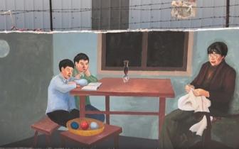 晋江南塘社区50多幅壁画引人赞 美丽乡村添新景