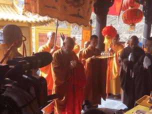 山西五台山雷音寺举办传统文化公益巡展