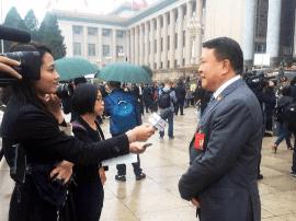 北汽集团徐和谊谈十九大报告:做汽车强国主力军