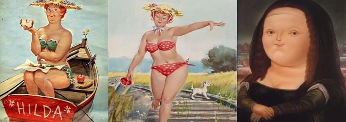胖子的春天 这些艺术家为什么都喜欢胖子!
