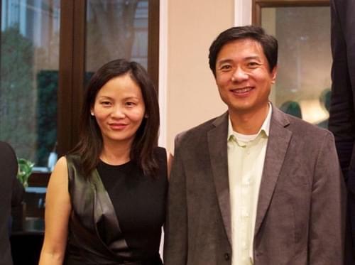 李彦宏妻子马东敏:让百度从大走向伟大的照片