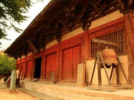 """佛光寺东大殿被发现80周年 珍稀""""四绝""""展雄风"""