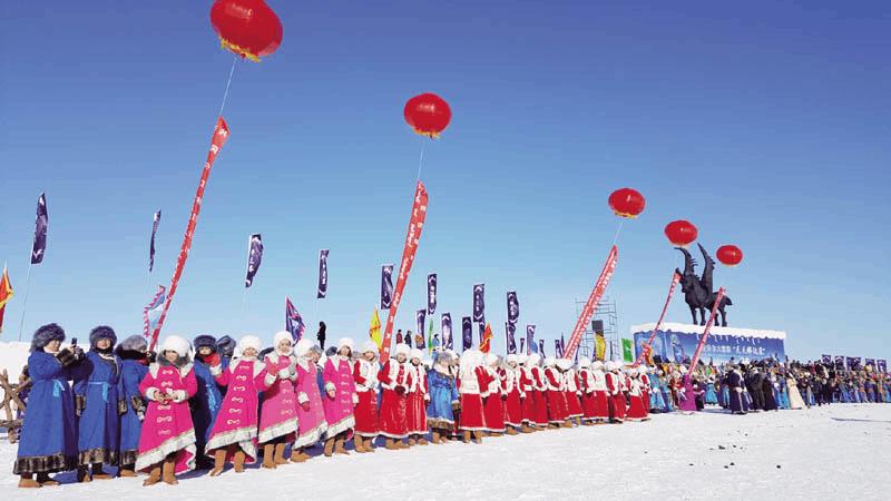 内蒙古旅游发展大会:冰雪严寒藏秀色银装素裹亦多情