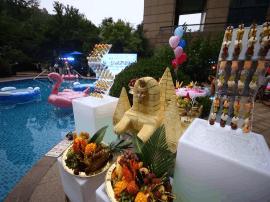激情一夏泳池派对--2017济南喜来登酒店高端客户答谢会