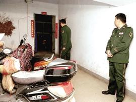 遏制电动车火灾事故 郑州13支消防检查组社