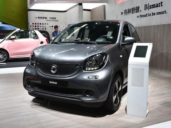 15.80万 smart forfour新增一款0.9T车型