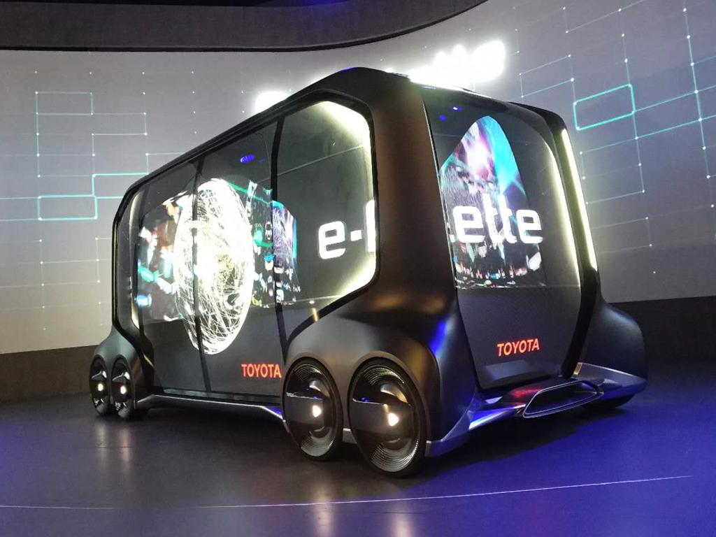 未来的公交车?丰田e-Palette概念车亮相
