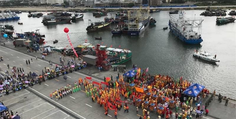 中国南海(三亚)开渔节祭海仪式举行