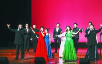 中国国家交响乐团合唱团走进革命老区慰问演出