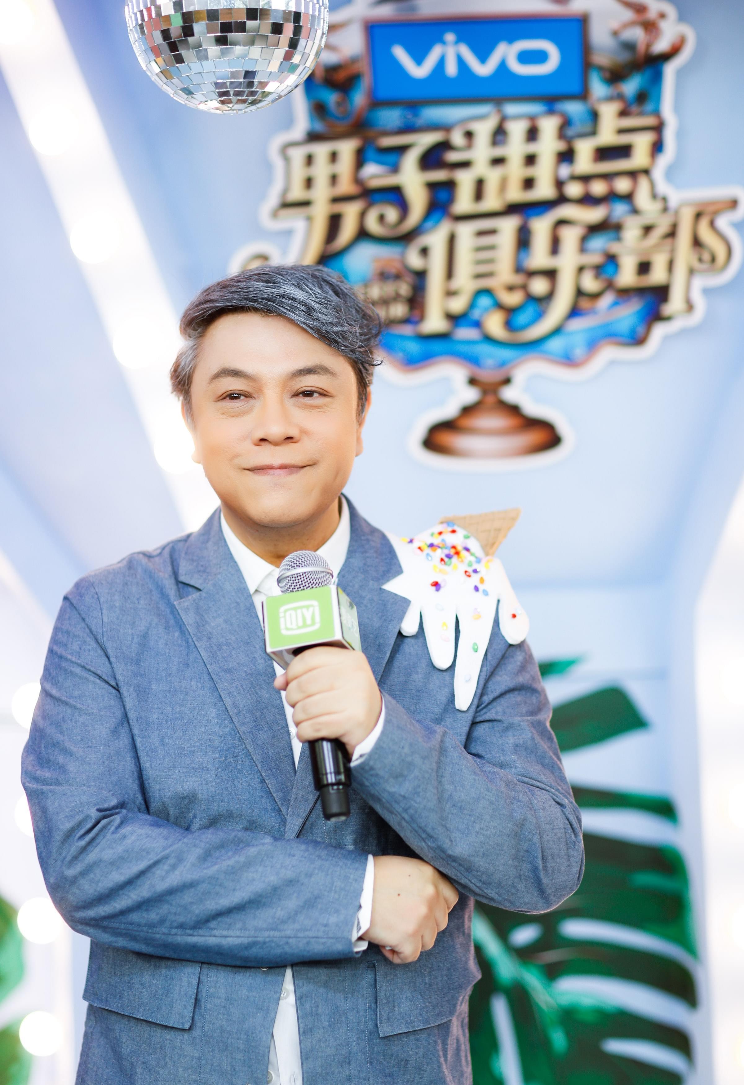 """蔡康永新节目开播在即 直面否认""""康熙重逢"""""""