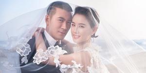 黄圣依与杨子拍婚纱照