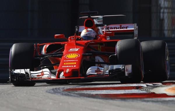 F1俄罗斯站排位赛维特尔杆位