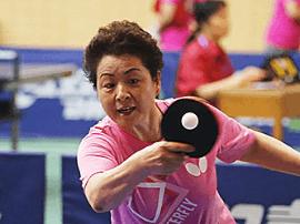 山西省第二届女职工乒乓球比赛在并启幕