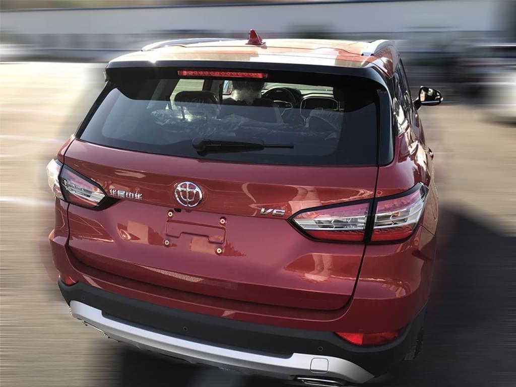 全新紧凑级SUV 华晨中华V6最新谍照曝光