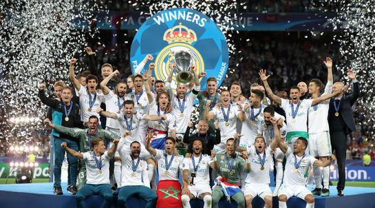 拿到欧冠奖杯,皇马将获得近1亿欧奖金