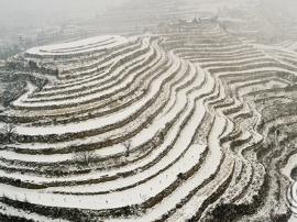 祈盼瑞雪兆丰年 运城迎来2018首场雪