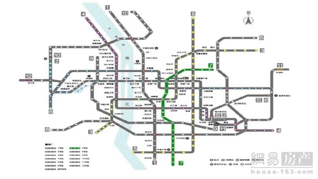 长沙地铁7号线、1号线北延线有望今年底开建
