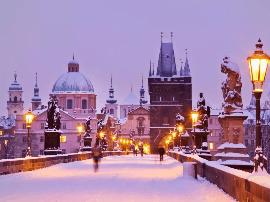 城市指南 | 跟随超模Petra Nemcova回到冬日布拉格
