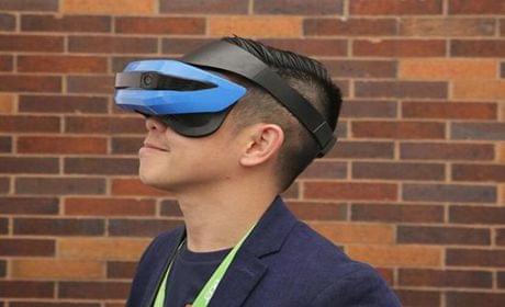 Win10专用VR眼镜原型机曝光
