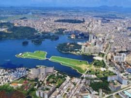 市领导调研:推进滨海新城项目规划建设