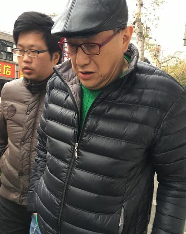 演员江彬(本名马世衡)