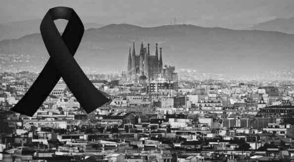 梅西C罗为哀悼遇难者 内马尔:巴塞罗那,我爱你!