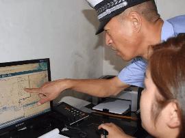 绛县交警到危化运输企业进行隐患排查