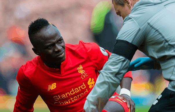 利物浦核心球员马内十字韧带重伤 或赛季提前报销
