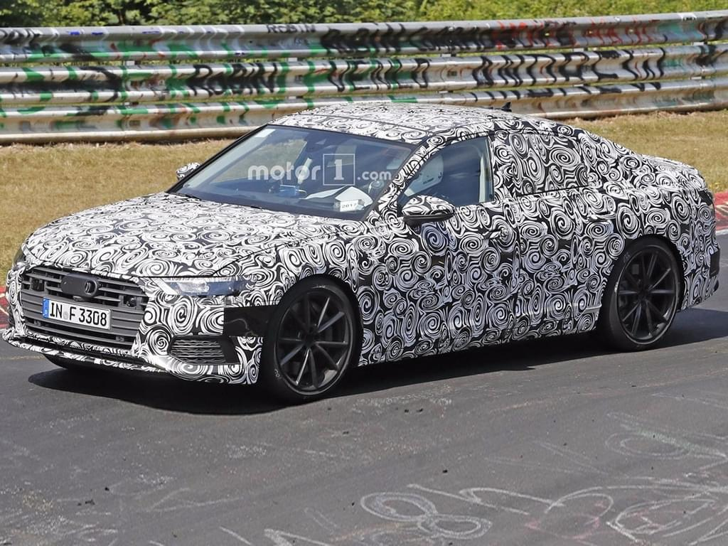V8变V6/明年亮相 新一代奥迪S6谍照曝光