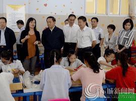 刘志宏:打造一流教师队伍 加快建设教育强市