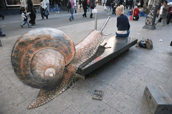 12个惊人的街头3D粉笔艺术画,让你大开眼界