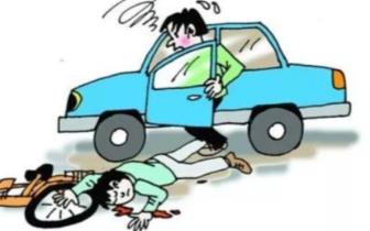 电动车不看路撞上违停汽车 这起车祸该由谁担责