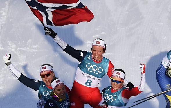 冬奥第8金!比约根越野滑雪30km夺冠