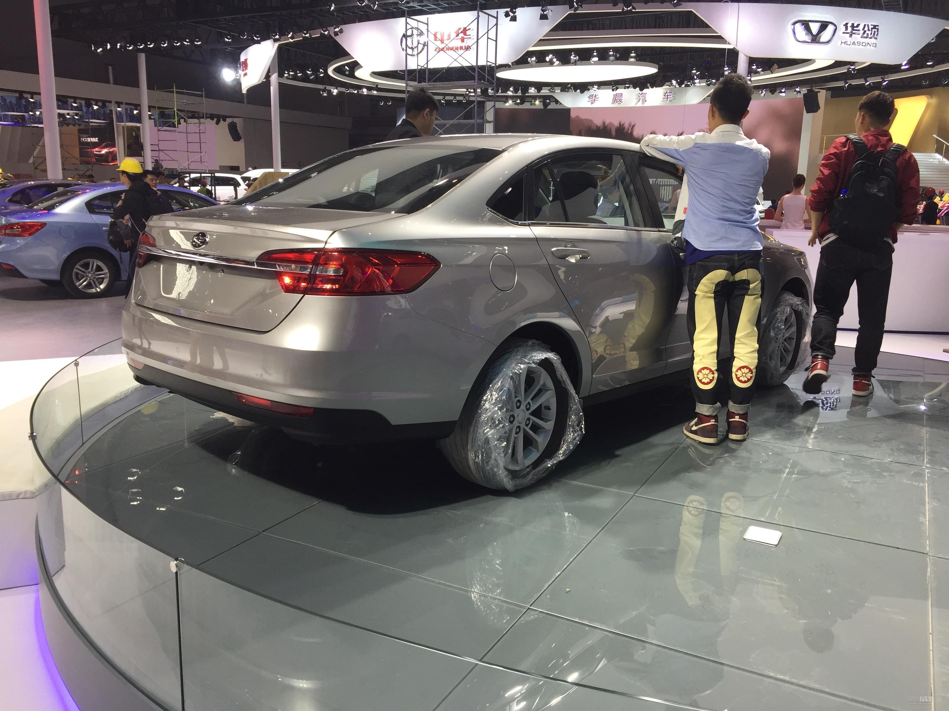 2017上海车展探馆:骏派全新紧凑级轿车