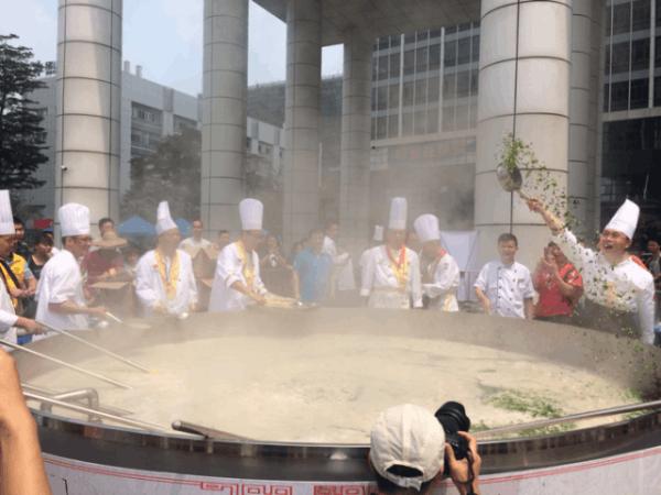 5000斤的笋粥现佛山!第三届张槎国笋文化节开幕