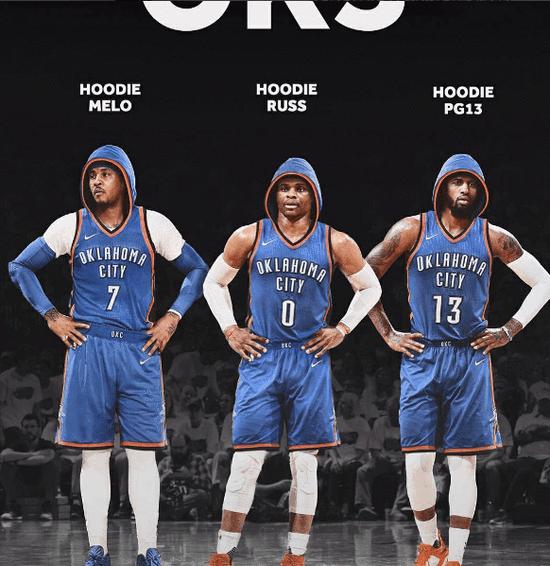《权利的游戏》有死亡军团,NBA来了个帽衫军团,勇士怕吗?