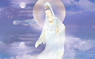 非常好听的佛教音乐《观音菩萨如秋月》