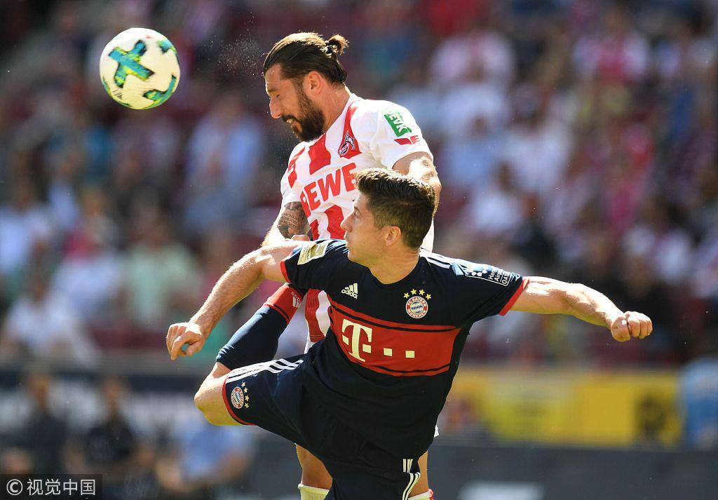 德甲-J罗传射穆勒2助莱万破门 拜仁3-1逆转科隆