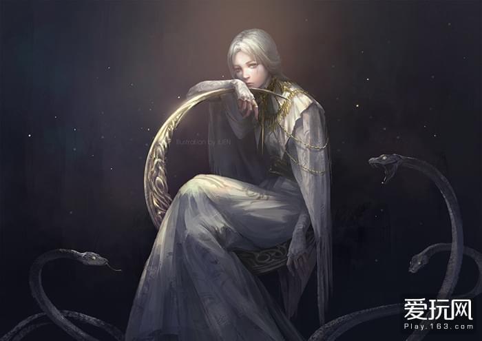 就像少女一样,脆弱,无助,在所向披靡的深渊剑前几乎做不到像样的抵抗。