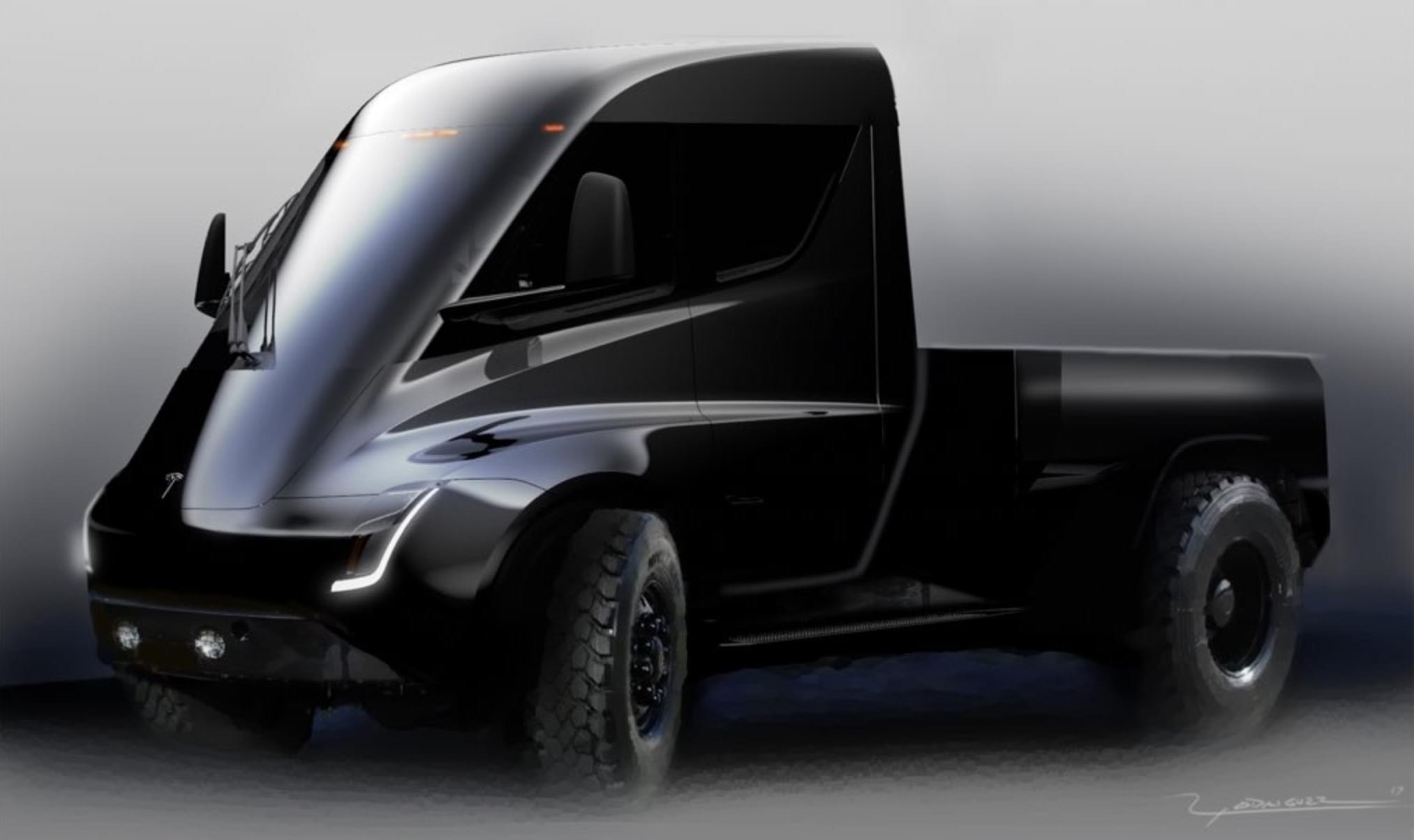 中型SUV/皮卡将亮相 特斯拉产品计划曝光