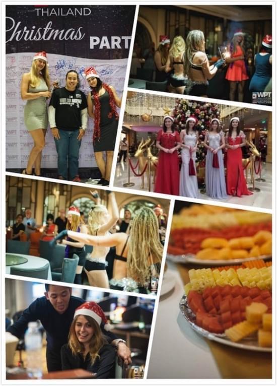 "WPT泰国赛""圣诞派对""现场"