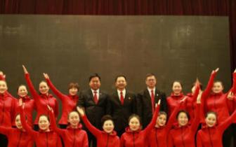 渑池县法院组织干警参加三门峡中院评先联欢会