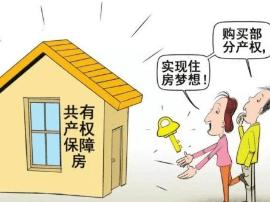 北京共有产权房:可用公积金贷款 再购房需腾退