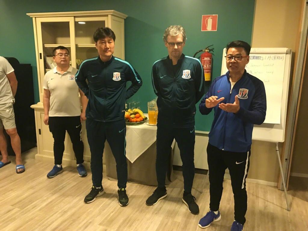 申花官方宣布前拜仁多特助教加盟 辅佐吴金贵