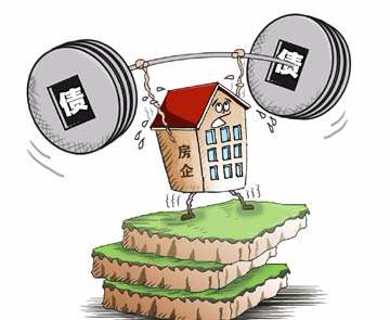 地产债扎堆到期 房企流动性受考