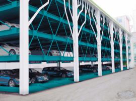 长乐首个立体停车场拟下月投用 共11层140个车位