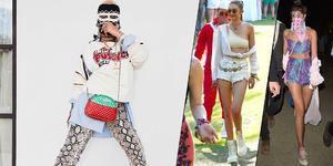 音乐节比造型!Gigi露腰输给蕾哈娜脸基尼