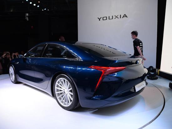 2015年亮相的游侠X概念车