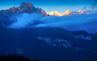 比两个黄山还高的欧洲之巅 你知道吗?