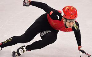短道500米-武大靖破奥运纪录晋级